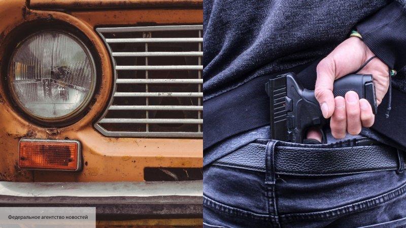 В Киеве застрелили иностранца