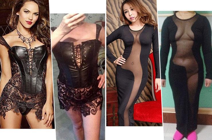 Ожидание vs. реальность: как выглядят «сексуальные» платья с AliExpress