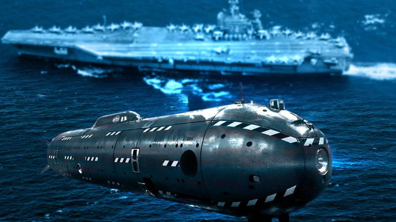 Российская субмарина «Цефалопод» сможет уничтожать вражеские цели оставаясь незамеченной