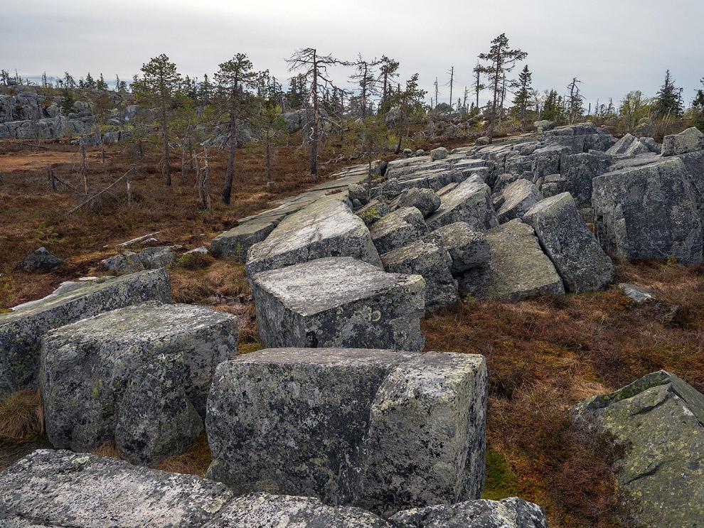 Прогулка в горы Карелии