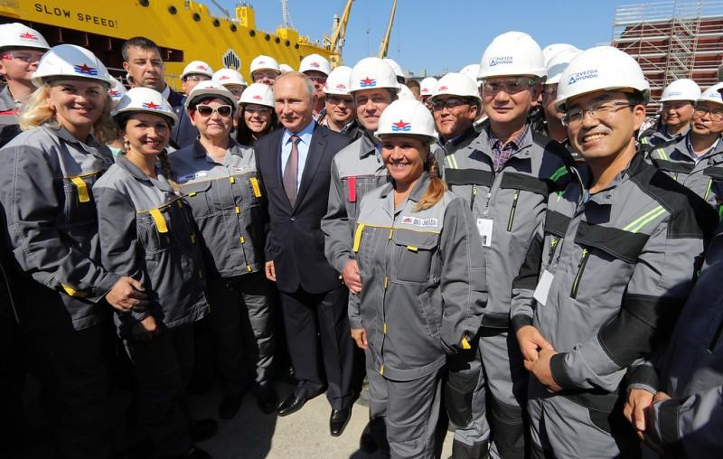 Путин побывал на Звезде
