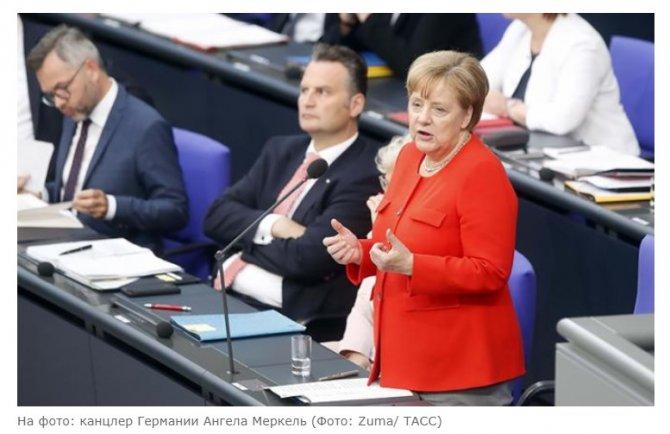 Светлана Гомзикова: Меркель …