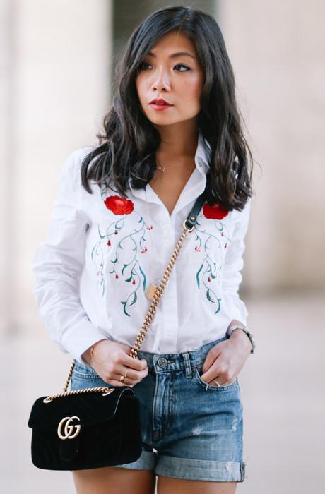 Пейзанские мотивы мода
