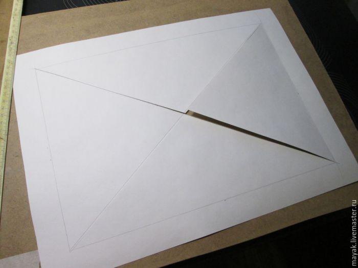 Как просто сделать паспарту для картины и панно мастер-класс