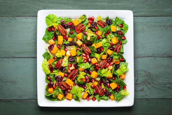 Легкие салаты на Новый год: дешевле, полезнее и не хуже оливье новогодние блюда,рецепты,салаты