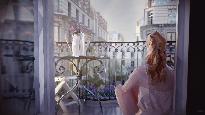 Парижские каникулы. Автор: Mat Szulik.