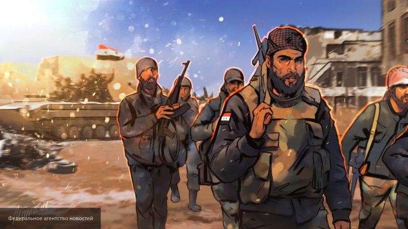 Армия Сирии восстановила контроль над большей частью границы с Турцией и Ираком