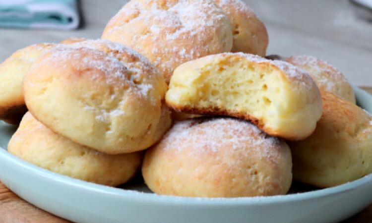 Восхитительные творожные пончики в духовке