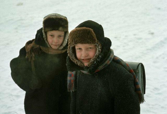 Школьники в Иркутске, 1966 СССР, история, фото