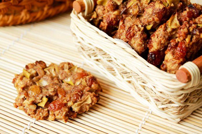 Полезное яблочно-овсяное печенье без единой лишней калории