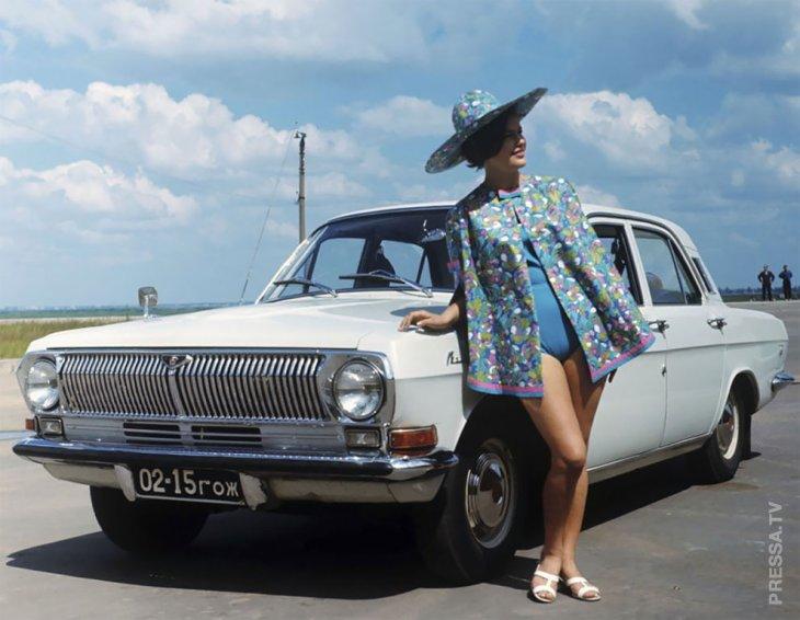 Советская автомобильная реклама