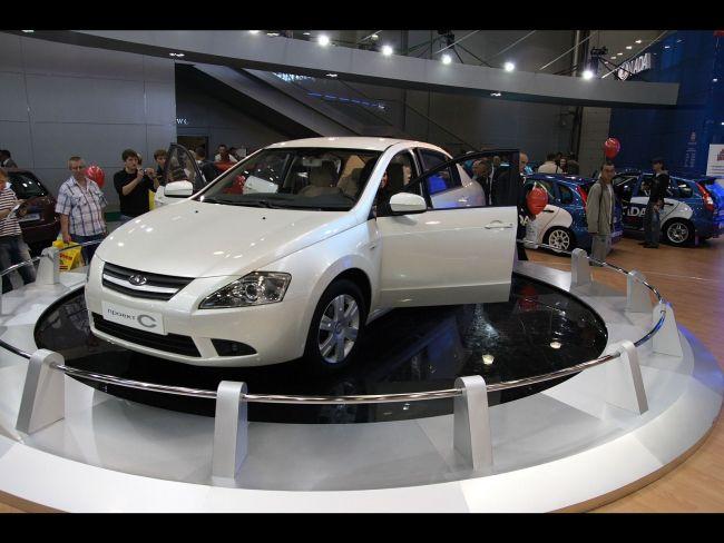 Lada Siluet - совместный продукт российской и канадской компаний 2