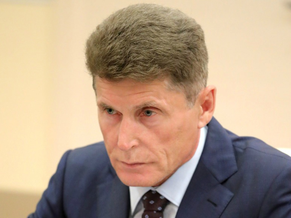 Врио главы Приморья Кожемяко…