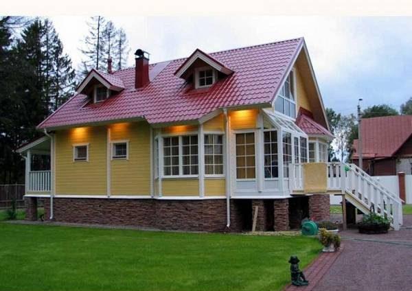 проекты красивых одноэтажных домов и коттеджей, фото 30