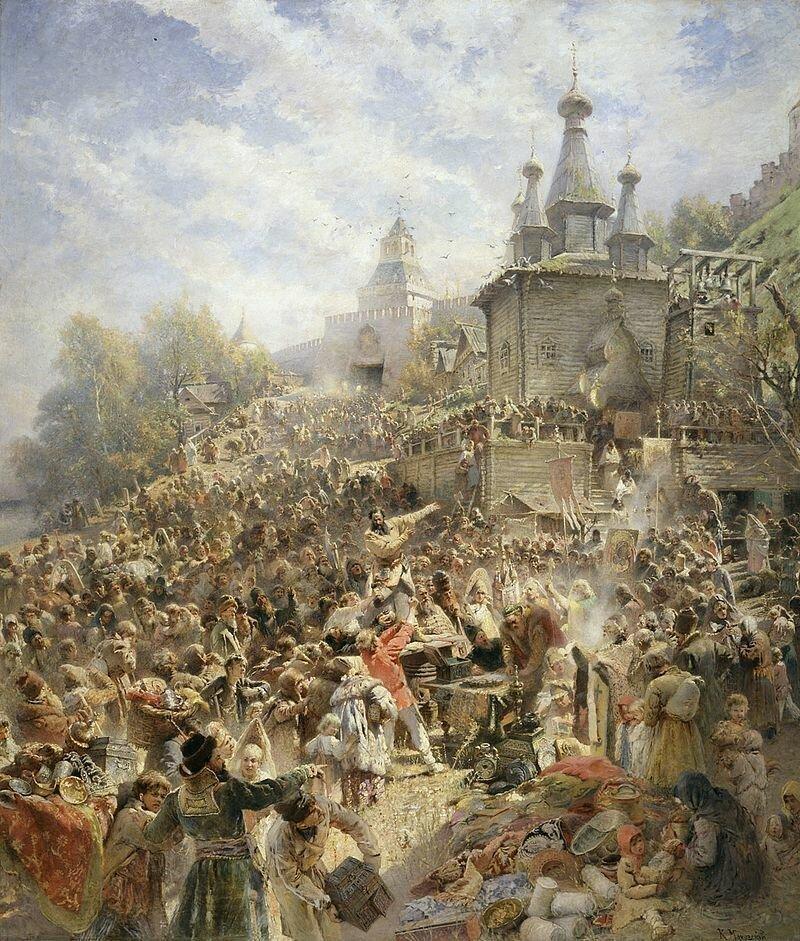Как Польша чуть не завоевала Россию