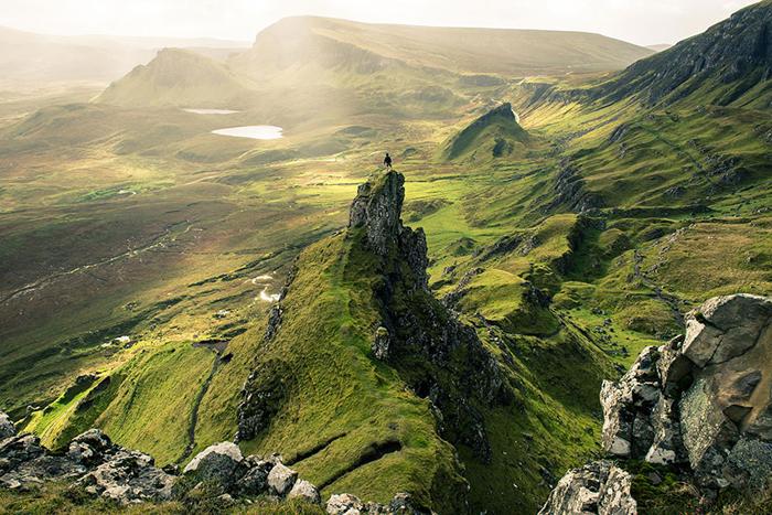 Невероятная красота шотландских просторов.