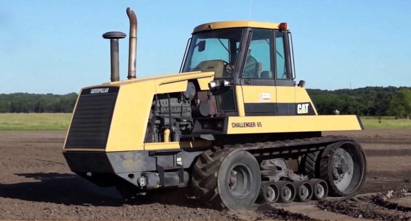 Как выбрать резиновые гусеницы для трактора Challenger 65