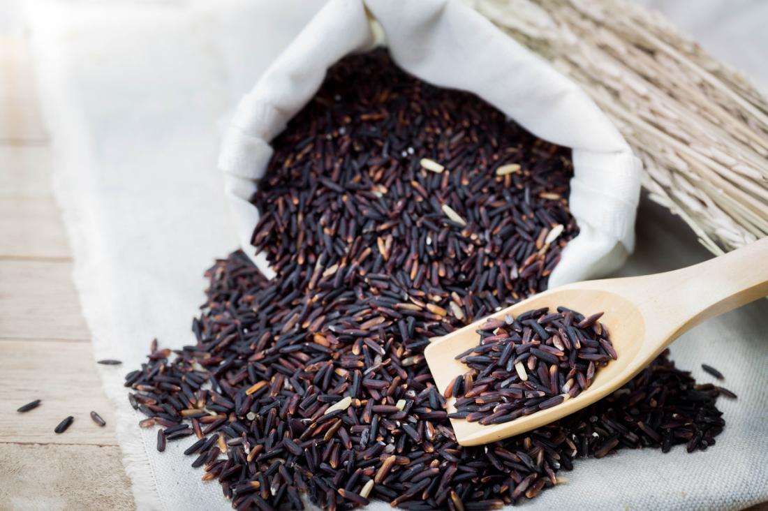 Польза чёрного риса