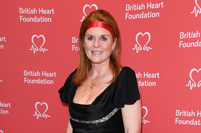 Сара Фергюсон на благотворительном вечере в Лондоне