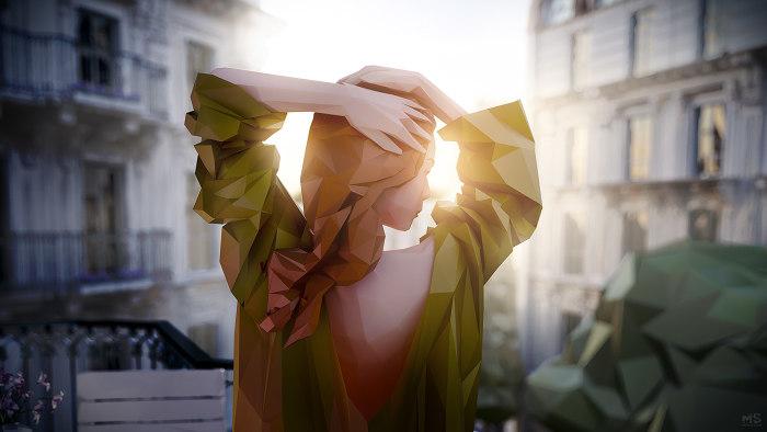 В лучах солнца. Автор: Mat Szulik.