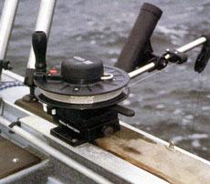Троллинговая ловля с применением даунриггера
