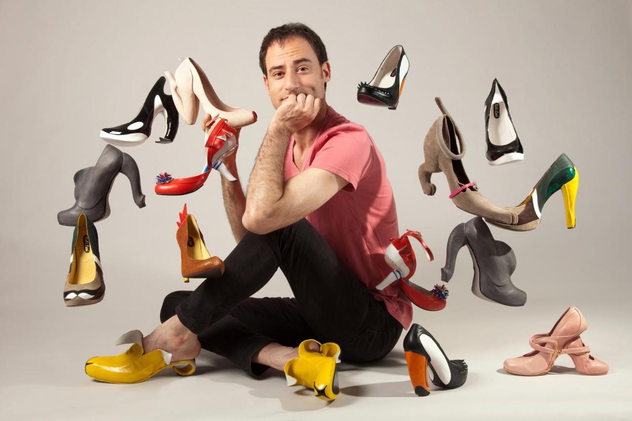 Выставка Коби Леви «Обувь как искусство» откроется в «Победе»