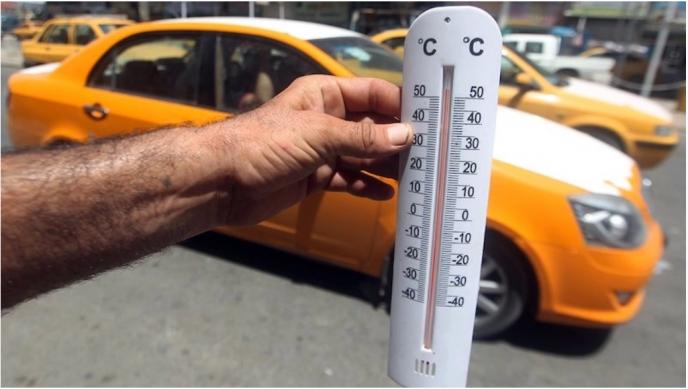 В Кувейте сейчас 63! Плавятся даже машины жаркое лето,Кувейт