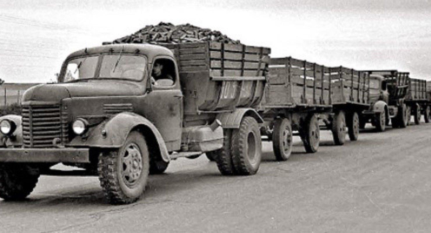 Названы советские рекорды по самым длинным автопоездам Автомобили