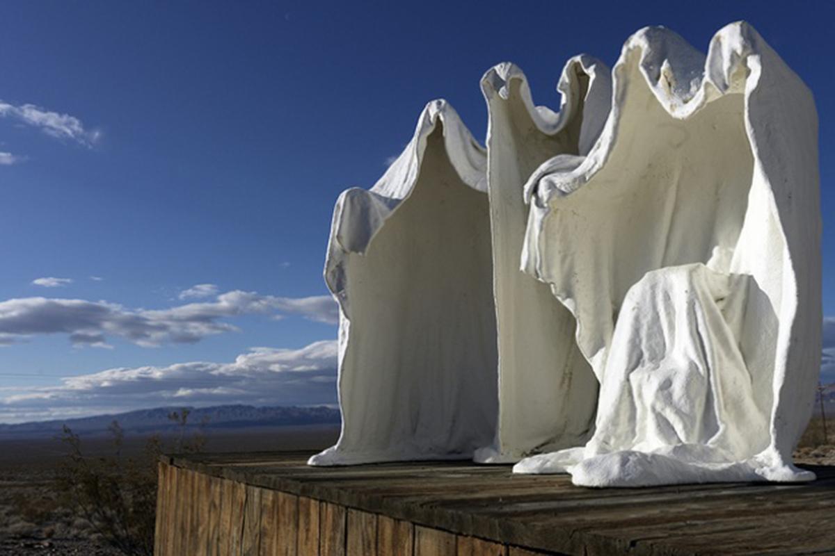 Это называется современной скульптурой.