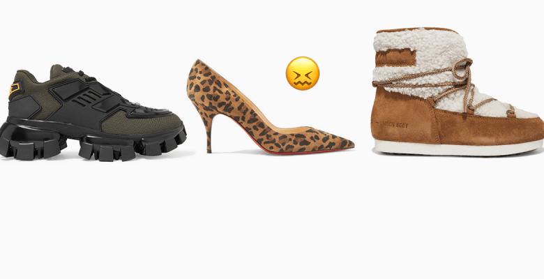 Кроссовки, каблуки, угги – м…