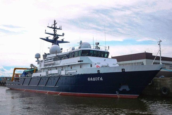 Начались испытания нового судна для «секретного флота» России