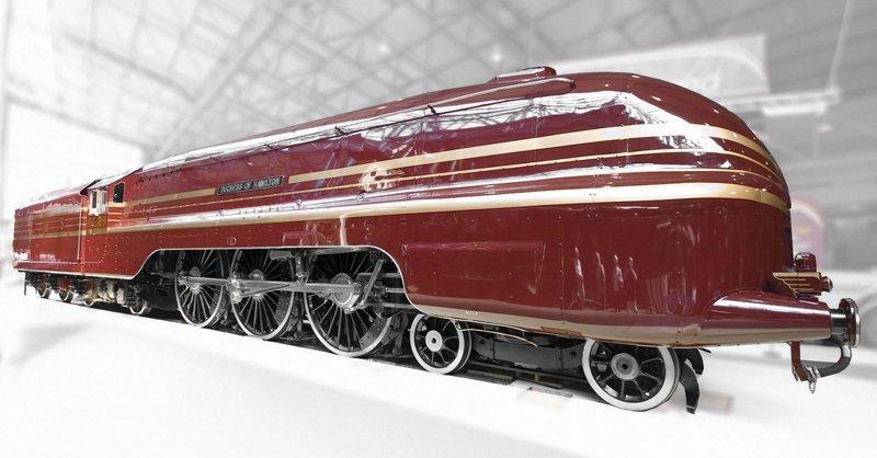 Аэродинамические локомотивы. Поезд Герцогини Гамильтон вагоны, железнодорожные, изобретения, поезда, рельсы, факты, фантазии
