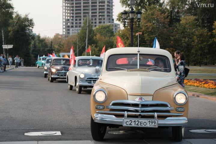 Парад «Победа» и выставка ретро автомобилей