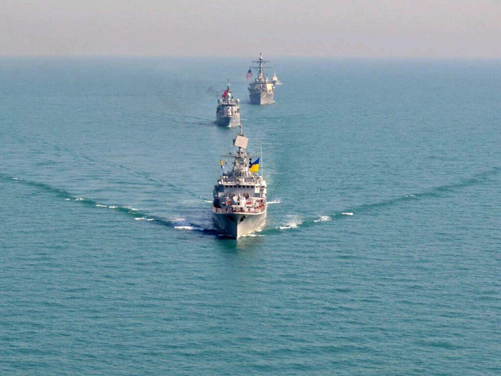 В Киеве мечтают о совместных учениях ВМСУ и НАТО под Кронштадтом