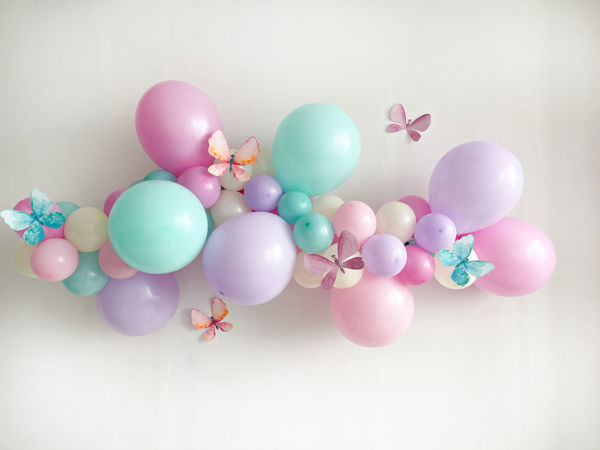 Гирлянда из воздушных шаров декор,мастер-класс