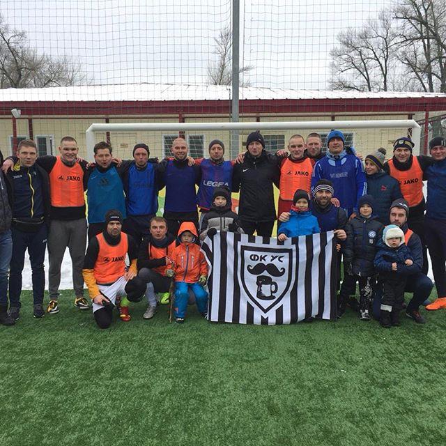 Усик сыграл в футбол в Киеве…