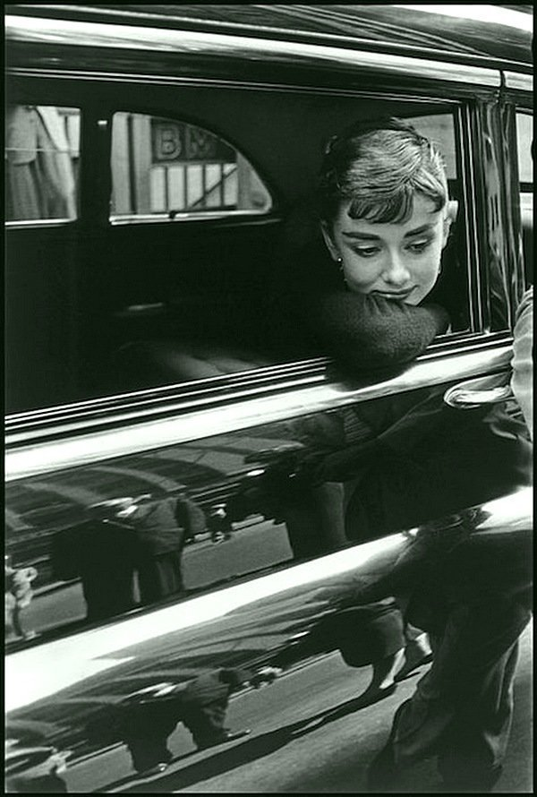Деннис Сток - Одри Хепберн, Нью-Йорк 1954 Весь Мир в объективе, история, фотография