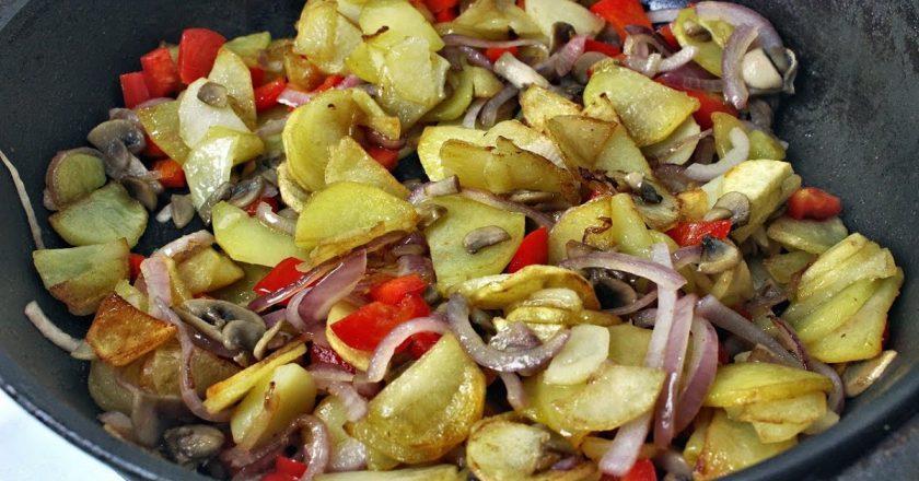 Картофель по-селянски: уютное и аппетитное домашнее блюдо
