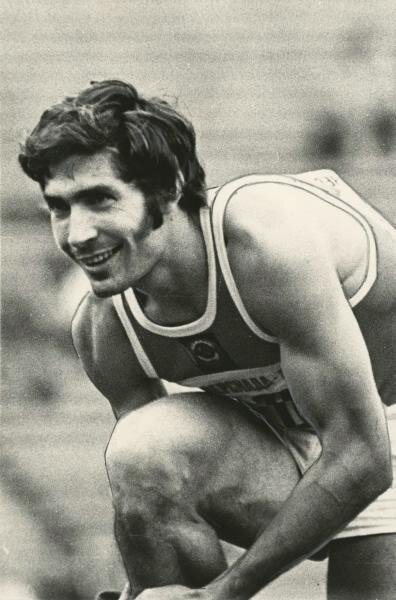Участник универсиады Александр Абаза, 15 - 25 августа 1973 года, г. Москва, МАММ/МДФ.