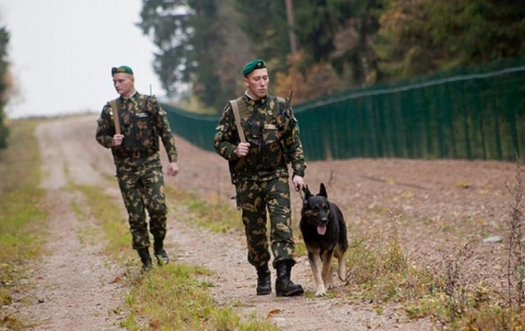 Россия строит границу с Беларусью