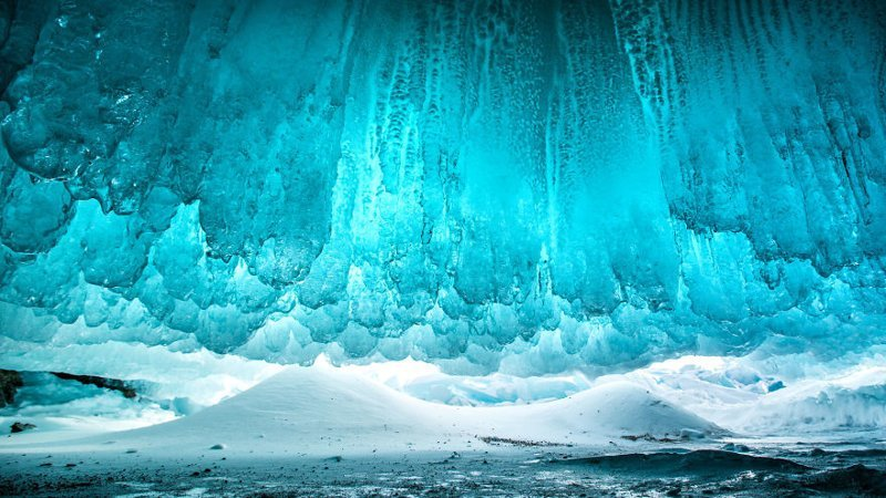 Ледяной водопад Зимняя сказка, байкал, зима, красота, лед, снег, фото, фоторепортаж
