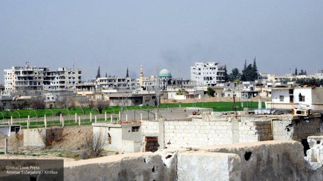 Сирийские летчики разбрасывают листовки, призывая боевиков покинуть Восточную Гуту