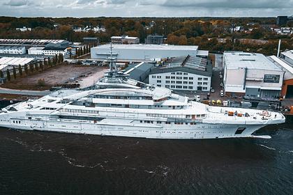 Для российского миллиардера построили 142-метровую суперъяхту россия