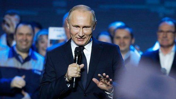 Реакция мира на выдвижение Путина в президенты-2018
