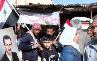 Боевики потребовали гумпомощь за освобождение жителей Восточной Гуты