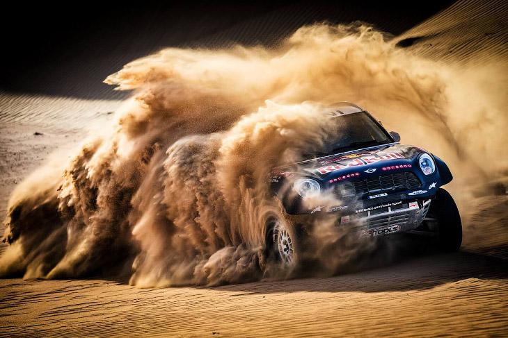 Ралли Дакар 2019 в пустыне