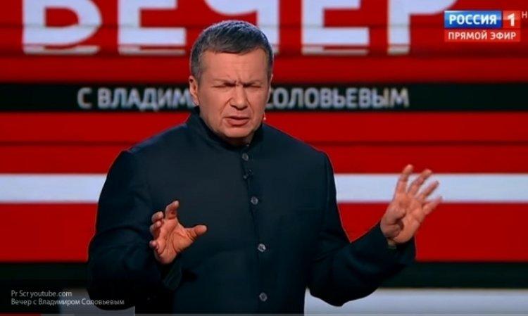 Соловьев высмеял Гройсмана после объявления новых санкций Киева против РФ новости,события,политика