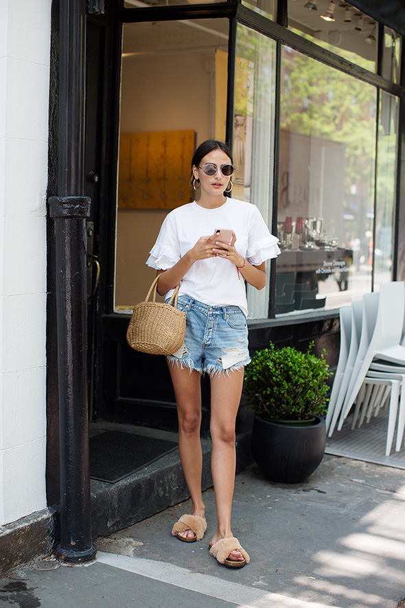 On the Street…Bleecker St., New York