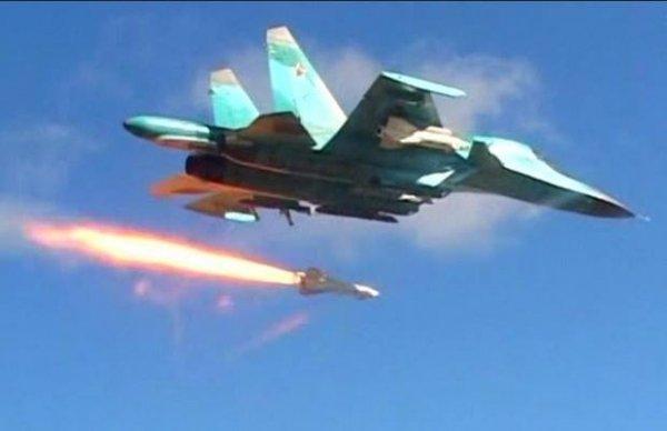 Русский ответ США: Российские ВКС застали врасплох американских повстанцев в Сирии