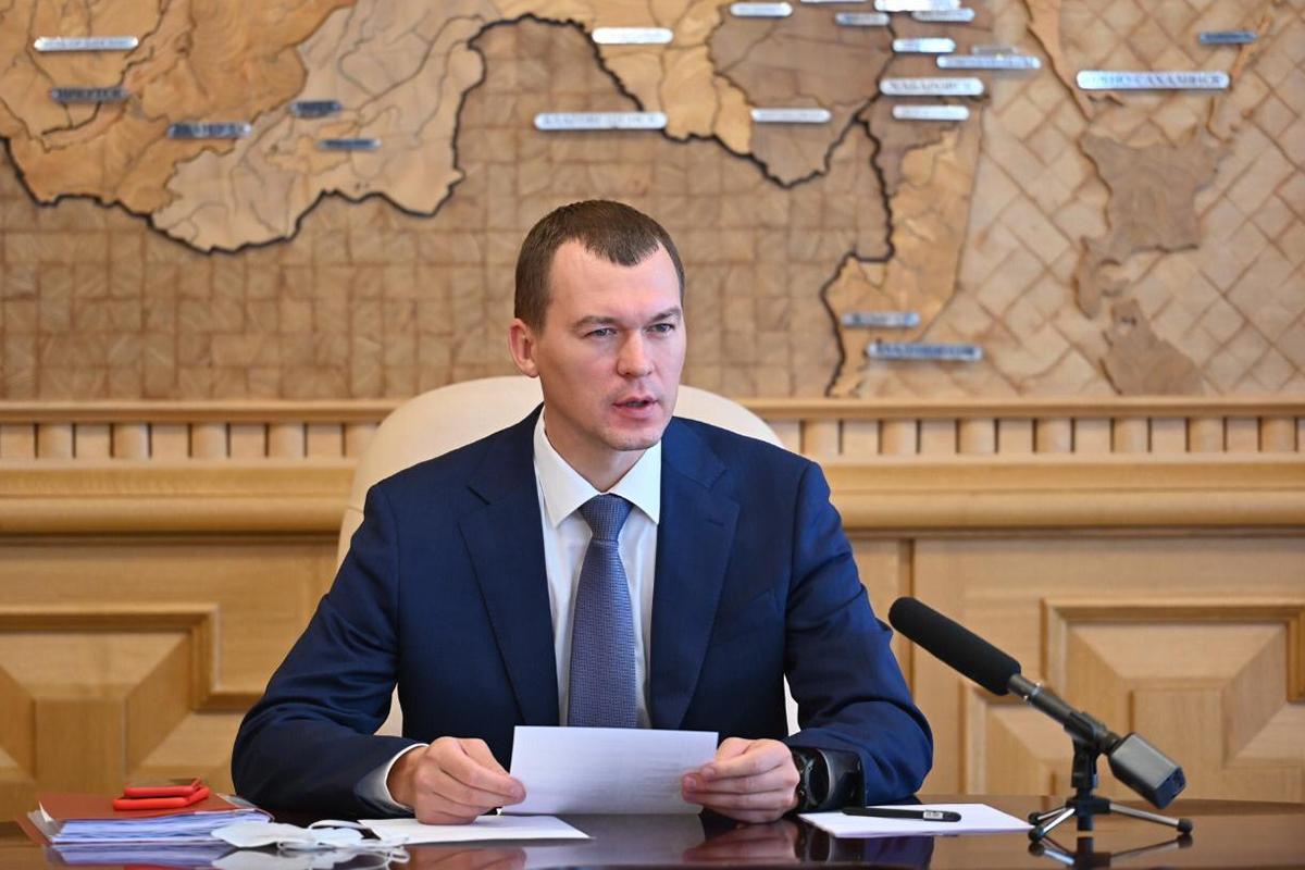 Дегтярёв сообщил о выделении правительством 1,3 млрд рублей Хабаровскому краю